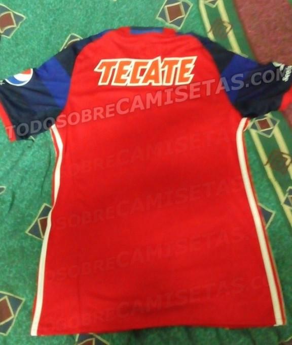 Chivas Jersey Clausura 2016 Espalda