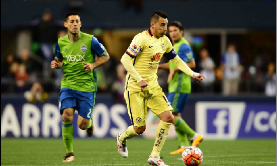 AMÉRICA-seattle sounders-sambueza