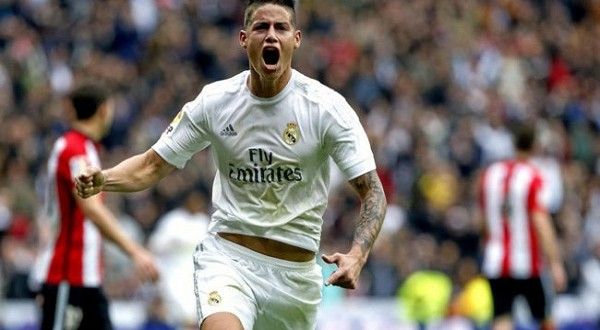 REAL MADRID James Rodríguez 600 x 400