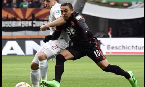 EINTRACHT FRANKFURT-Borussia Moenchengladbach 2