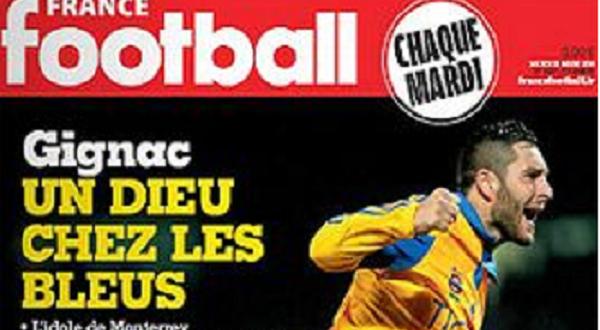 FRANCE FOOTBALL PORTADA 2