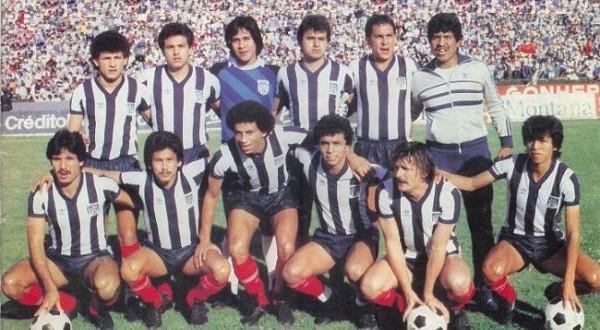 MONTERREY campeón México 86