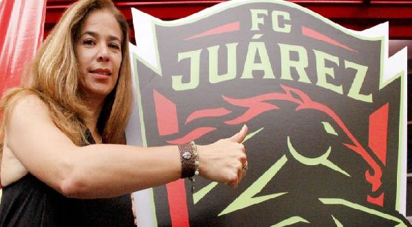PDTE ALEJANDRA DE LA VEGA FC Juárez CHICA