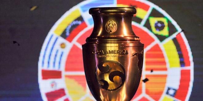 COPA AMÉRICA trofeo OK
