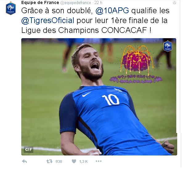 GIGNAC tuit francia