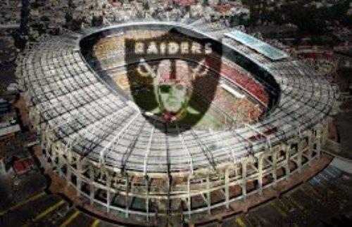 RAIDERS estadio azteca