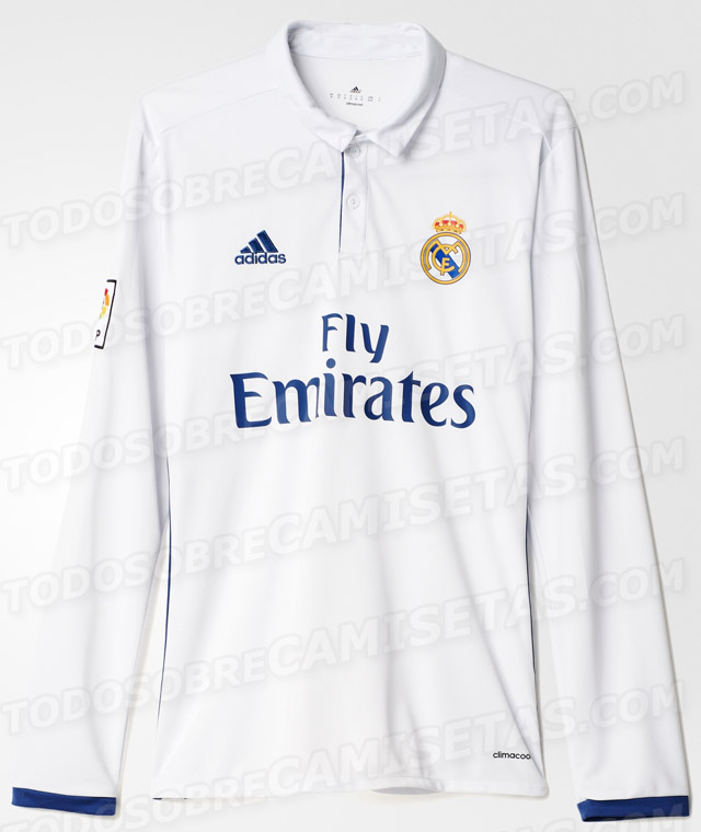 REAL MADRID uniforme 2