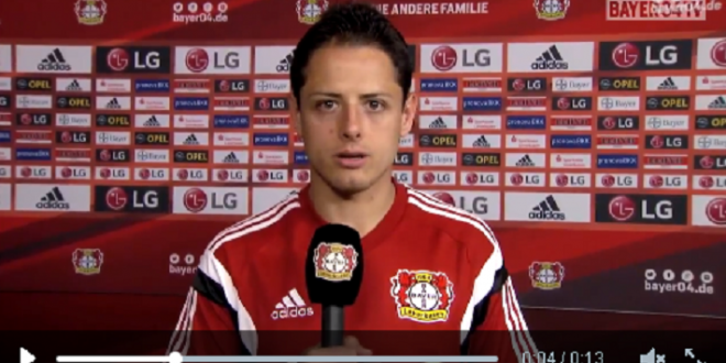 CHICHARITO mensaje video