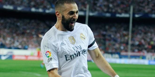 <> at Vicente Calderon Stadium on October 4, 2015 in Madrid, Spain.