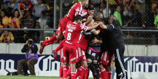 50829251. Morelia.- Xolos de Tijuana vence 2-1 a Monarcas Morelia, en el Estadio Morelos, dentro de la jornada siete del Torneo Apertura 2015 de la Liga MX. NOTIMEX/FOTO/GUSTAVO SALAS/FRE/SPO