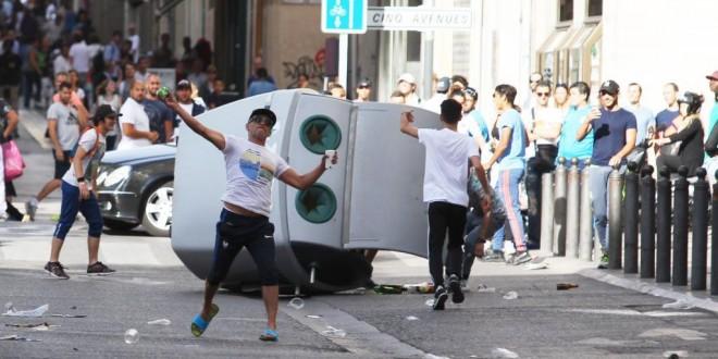 EURO disturbios