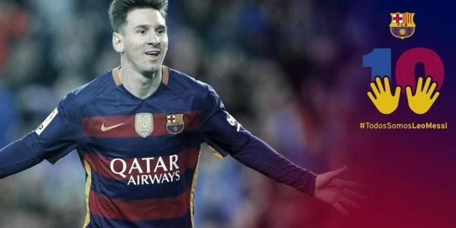 MESSI todos somos Messi