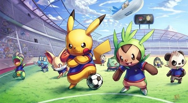 pokemon futbol