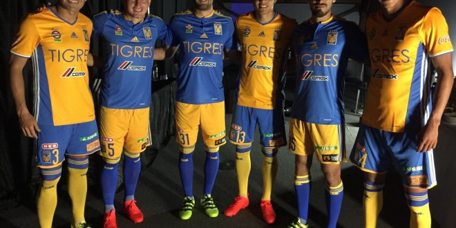 Tigres presenta nuevo uniforme | SUPERL1DER