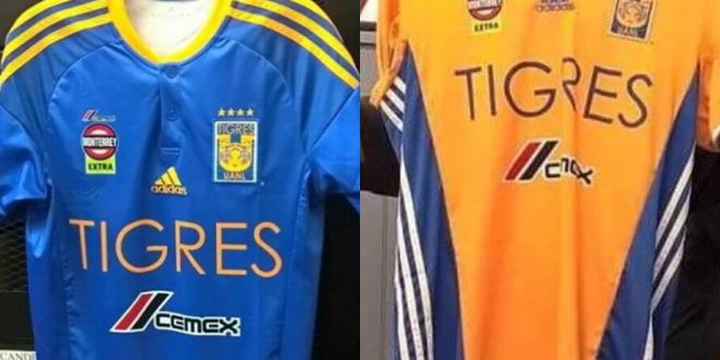 tigres uniformes nuevos