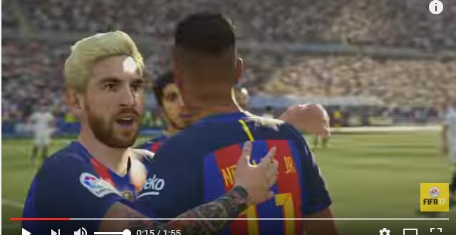 MESSI FIFA17
