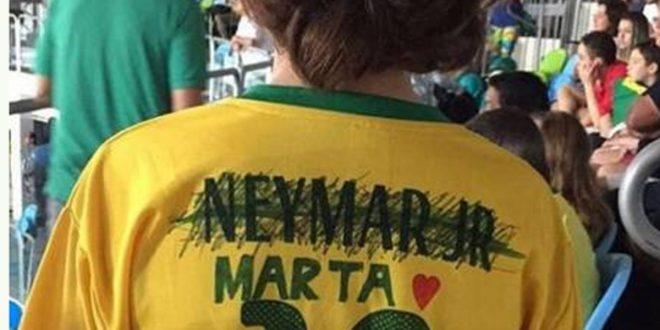 NIÑO camiseta de Neymar