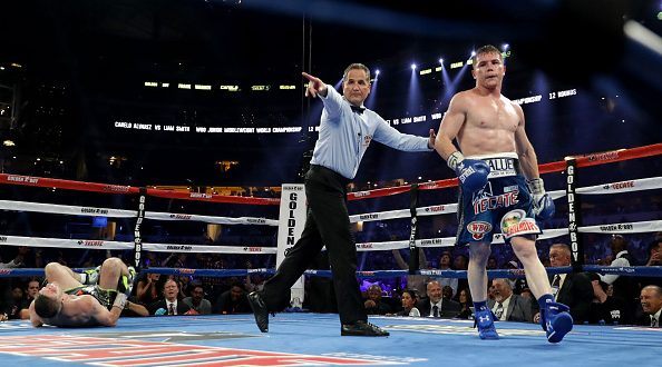 Canelo Alvarez v Liam Smith