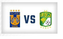 (3)  Tigres-León (8)