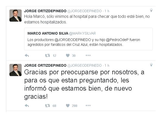 JORGE ORTIZ DE PINEDO tuit