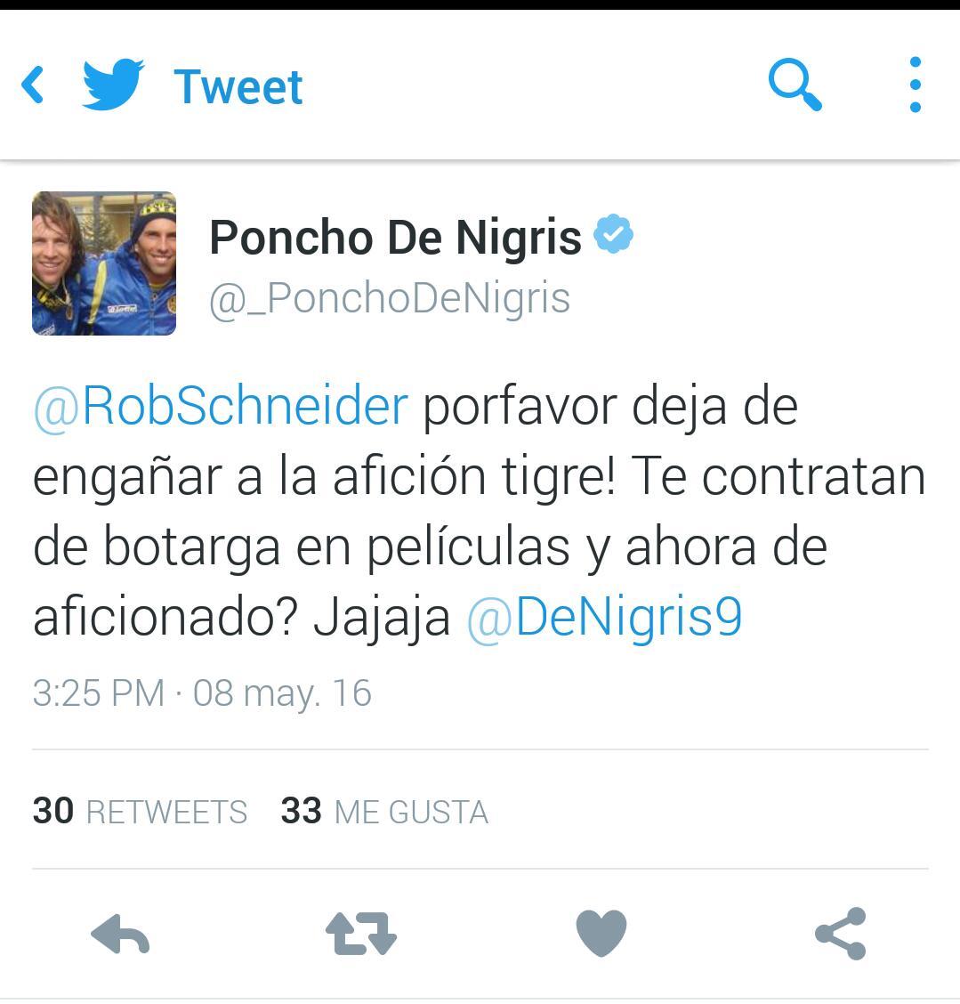 PONCHO DE NIGRIS tuit 2