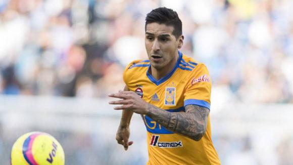 Ismael Sosa en su paso por Tigres